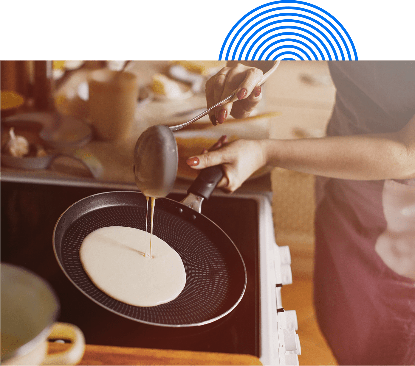 cooking a program approved pancake